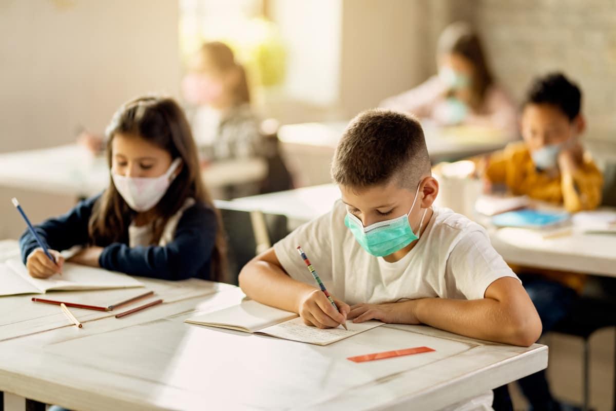 mascherine scuola bambini
