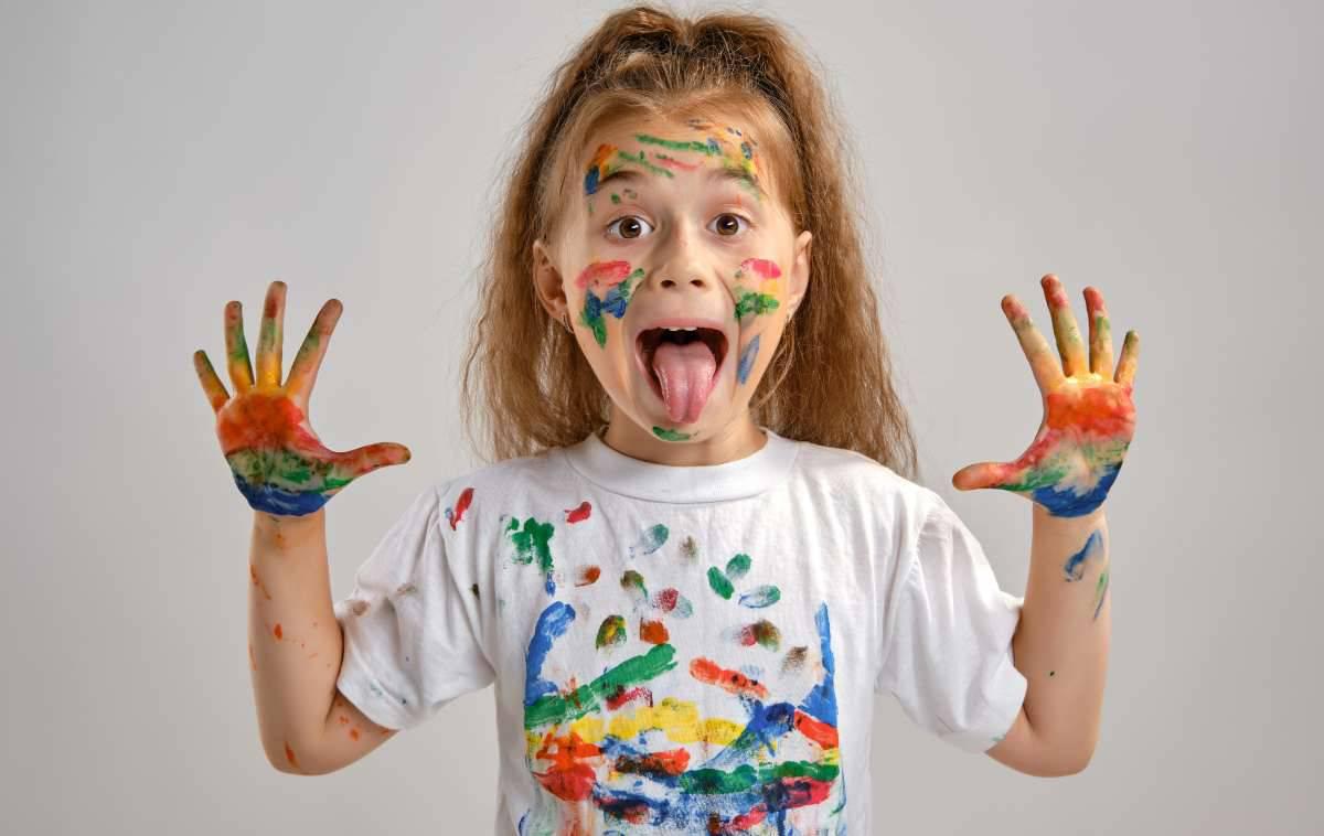 le pitture commestibili per bambini cibo e gioco