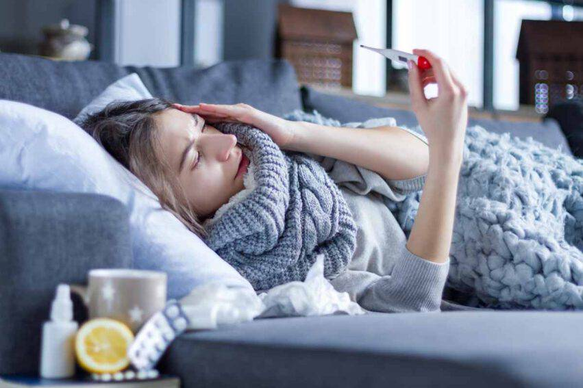 raffreddore influenza