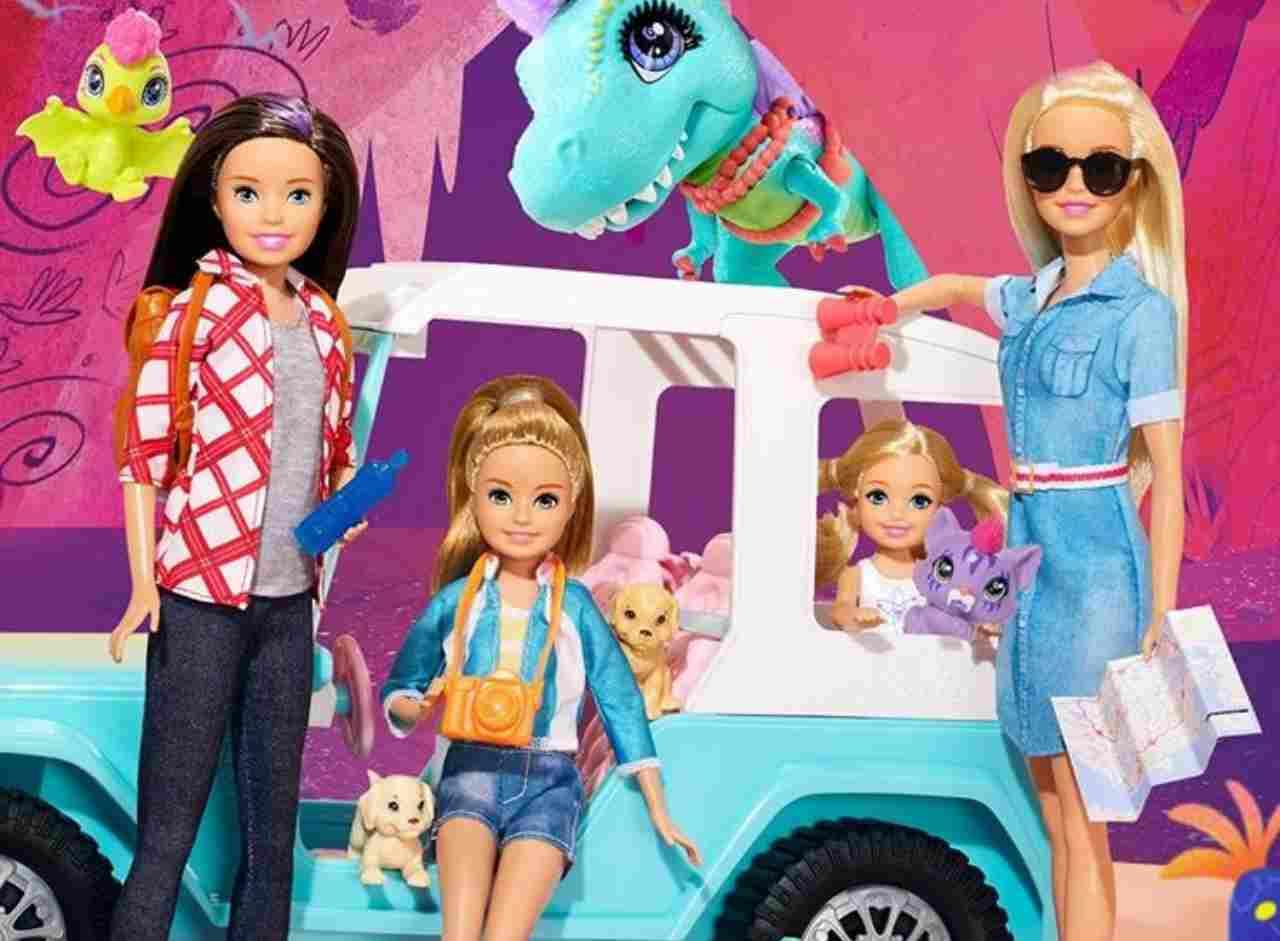 Barbie Mattel (fonte Instagram @mattel)