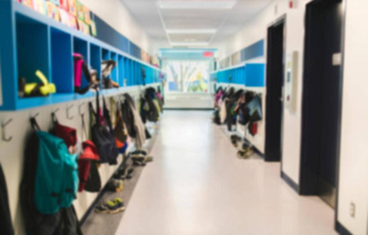 Cappotti a scuola