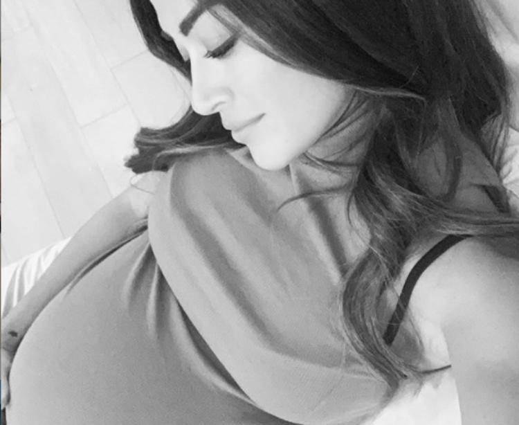 Giorgia Palmas 1 mese di Mia