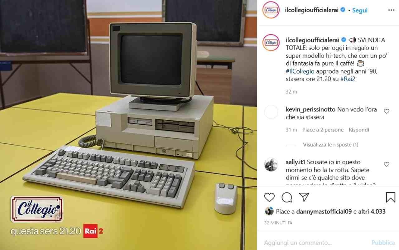 Il Collegio 5 (fonte Instagram @ilcollegioufficialerai)