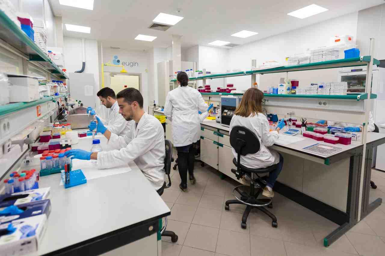 Laboratorio di ricerca Eugin (fonte Eugin)