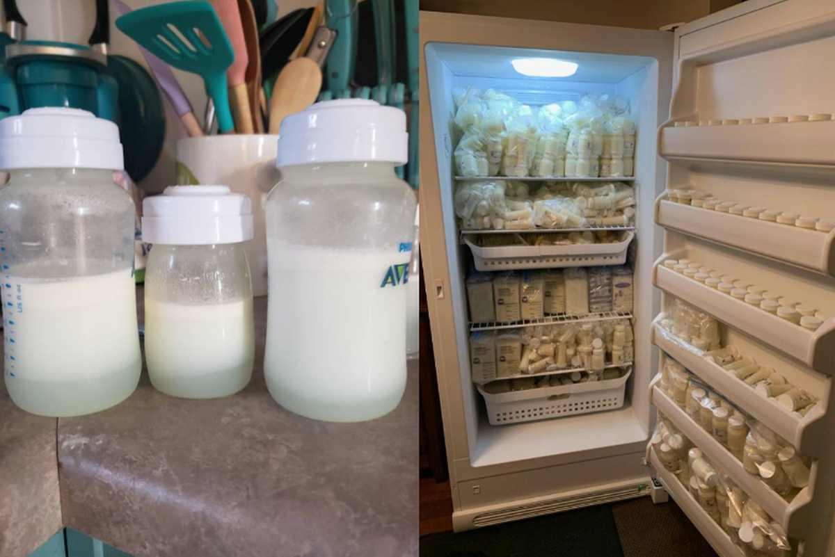 Latte materno vendita