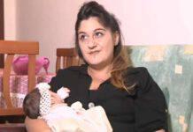 Melania la mamma record (fonte Youtube @rai1)