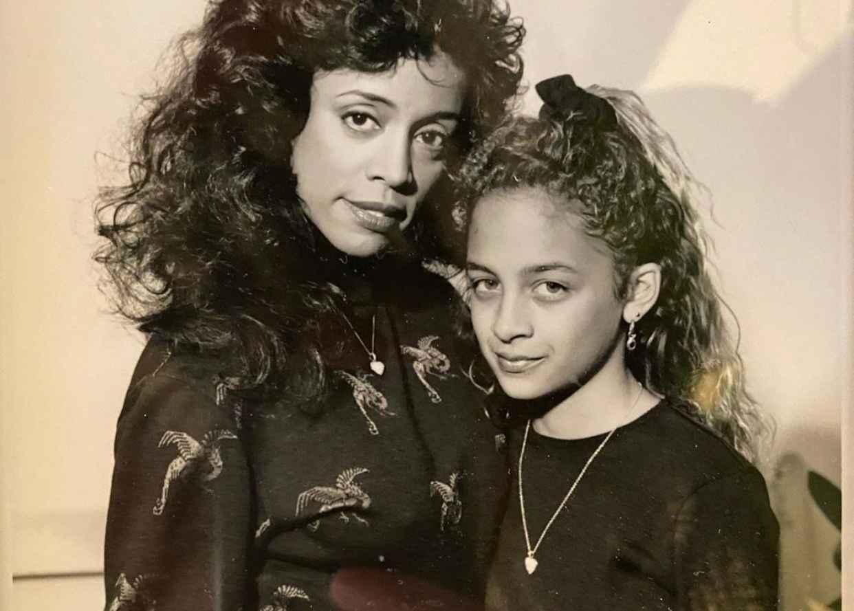 Nicole Richie e la madre Brenda (fonte Instagram @nicolerichie)