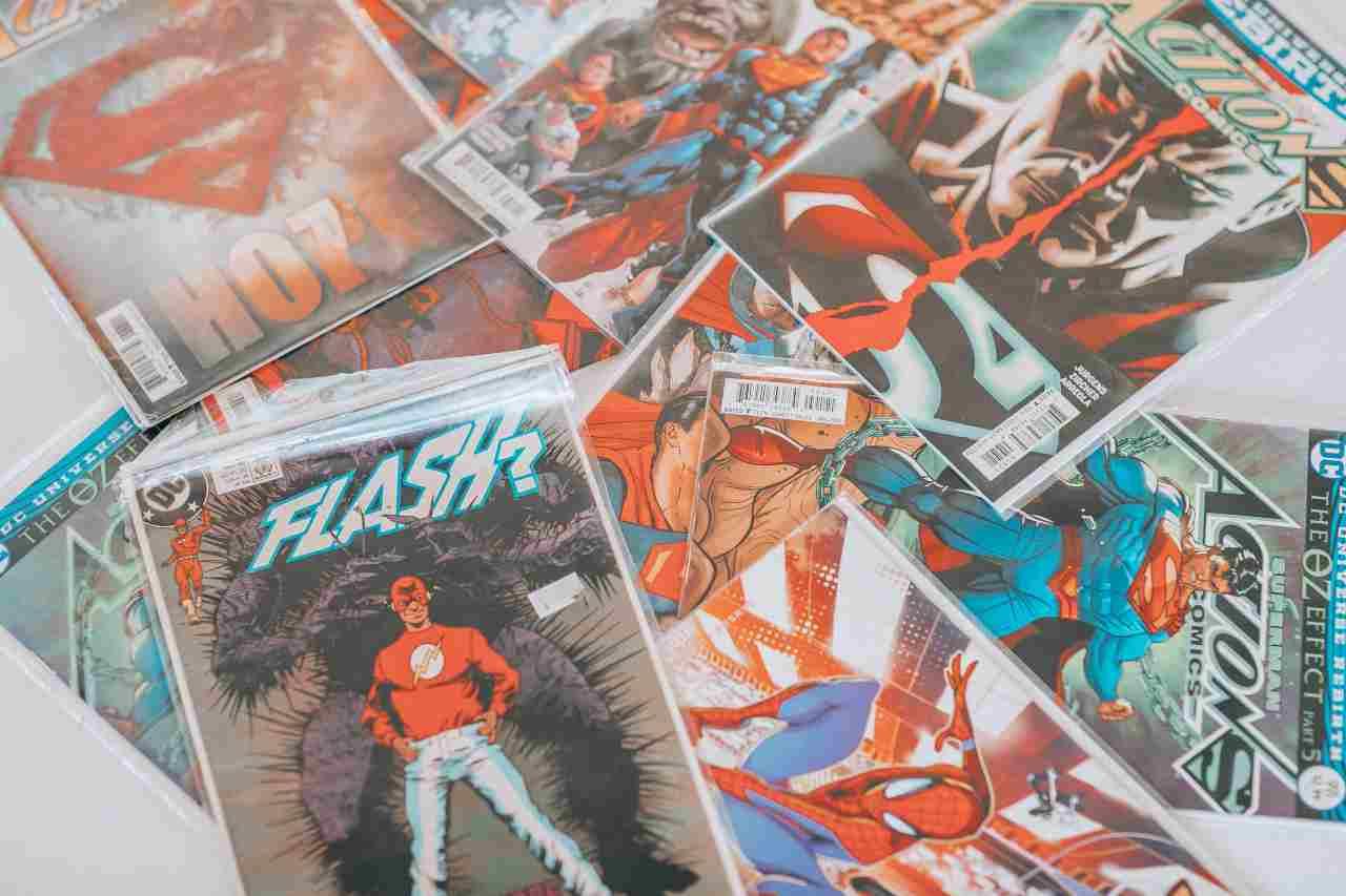 Perché leggere i fumetti (fonte unsplash)