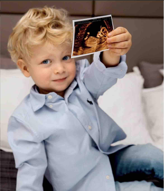 Leone foto gravidanza
