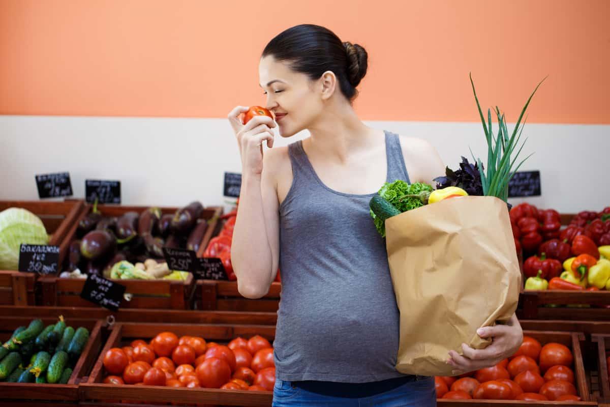 gravidanza frutta verdura