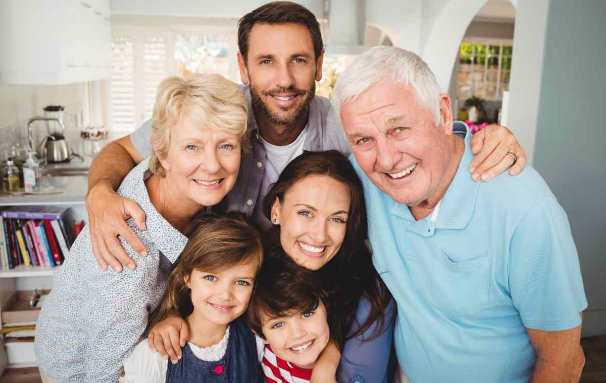festa dei nonni angeli nipoti