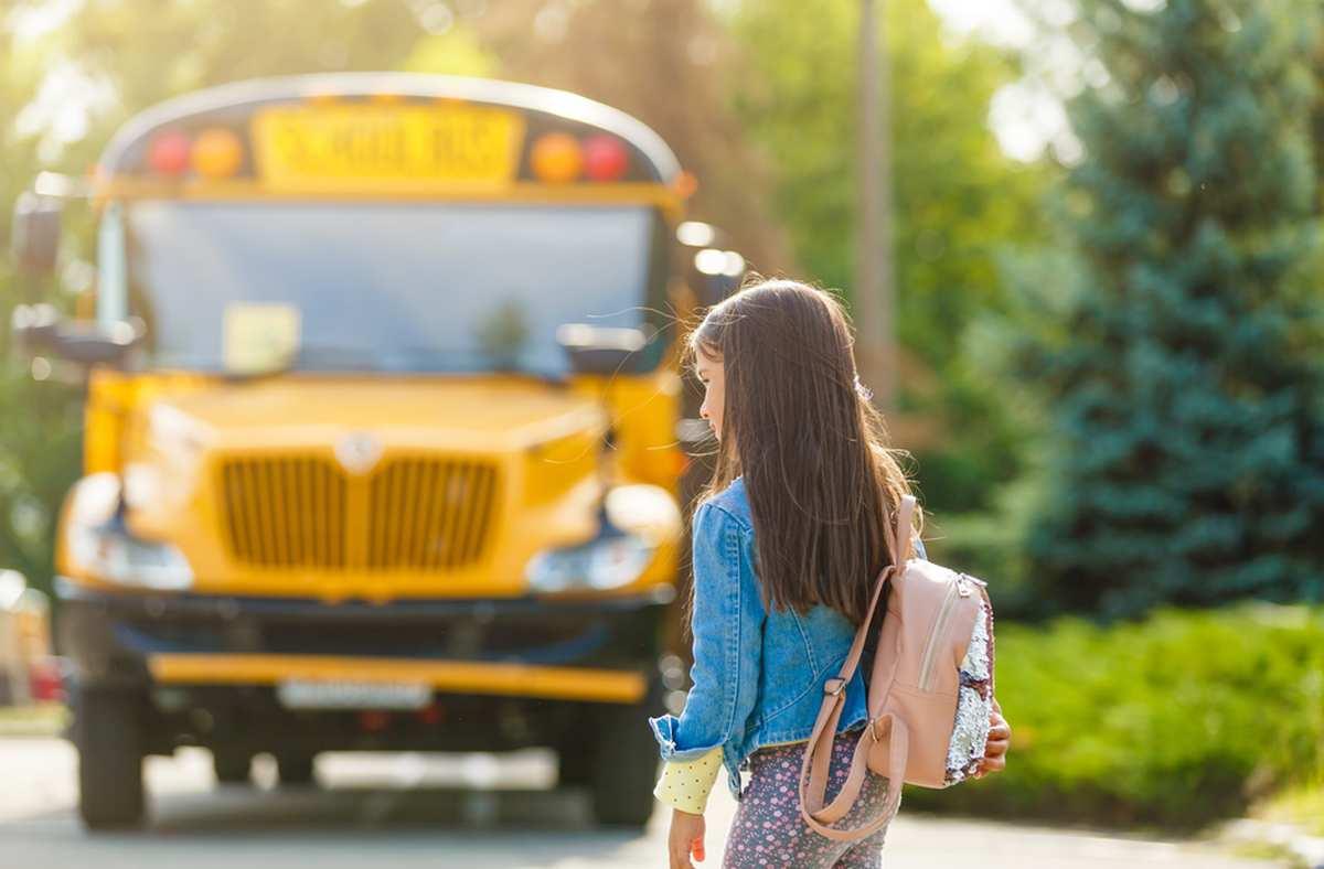Bambina rom non va a scuola