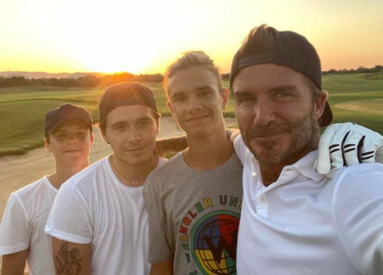 Beckham e figli