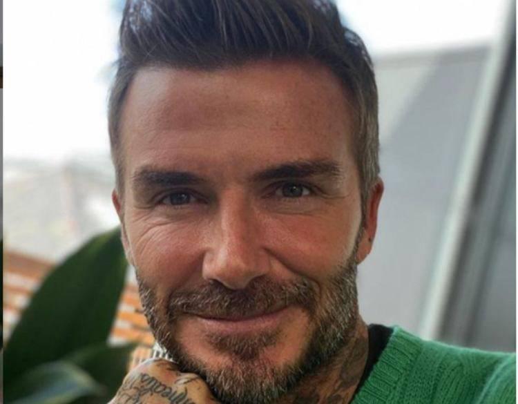 Beckham papà