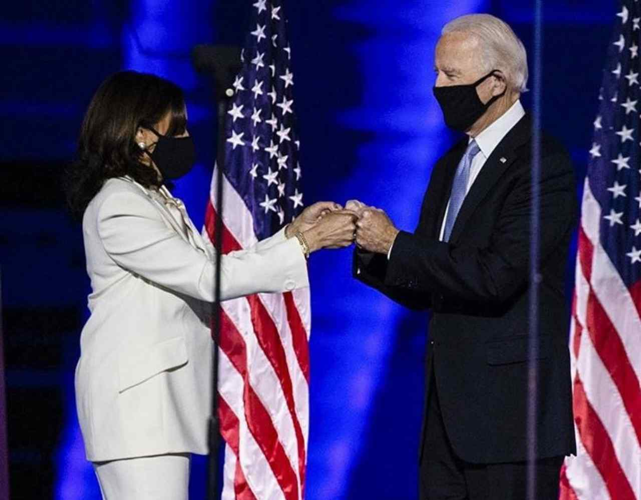 Joe Biden e Kamala Harris (fonte Instagram @joebiden)