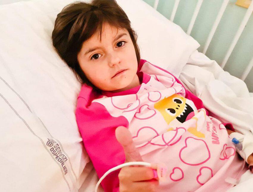 elena in ospedale