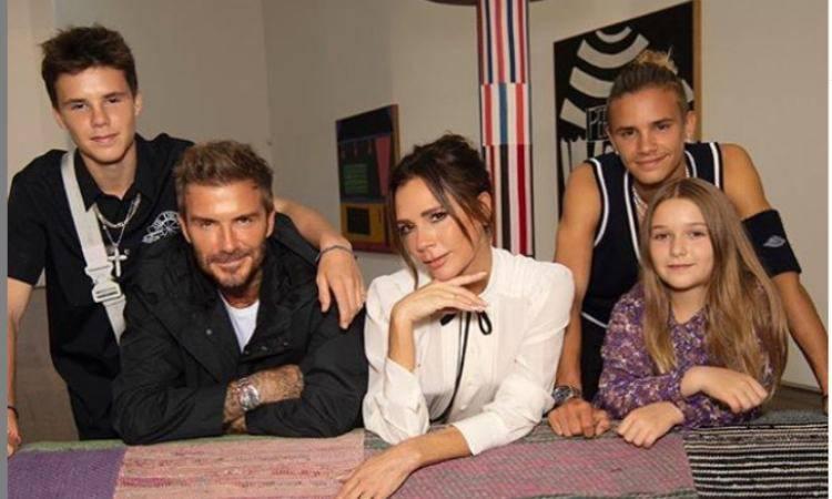 famiglia Beckham
