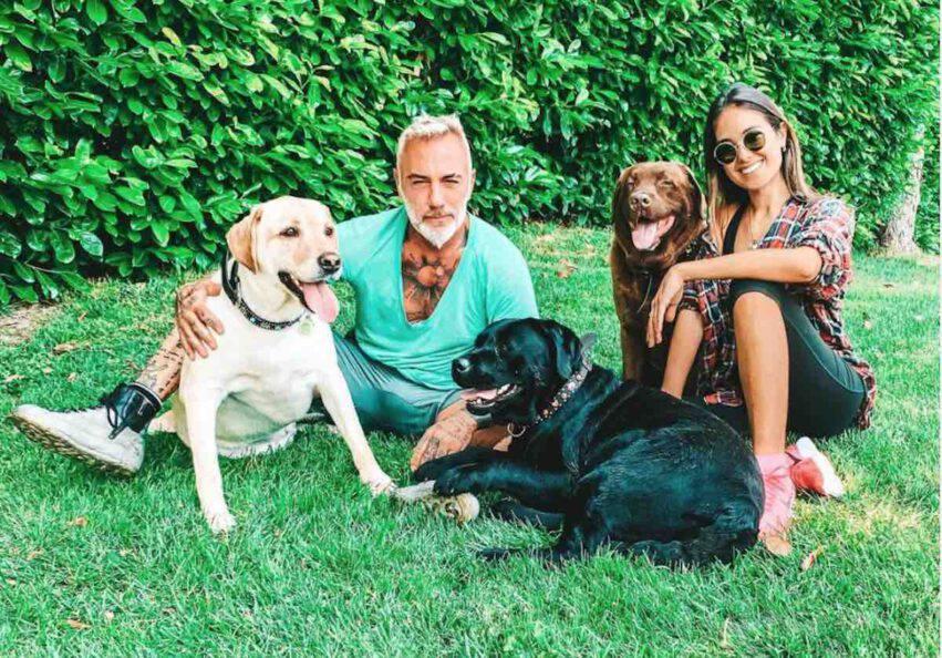 gianluca vacchi sharon fonseca cani