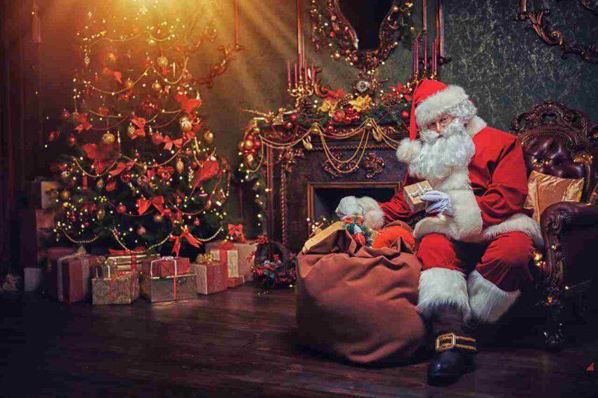 Babbo Natale abitudini