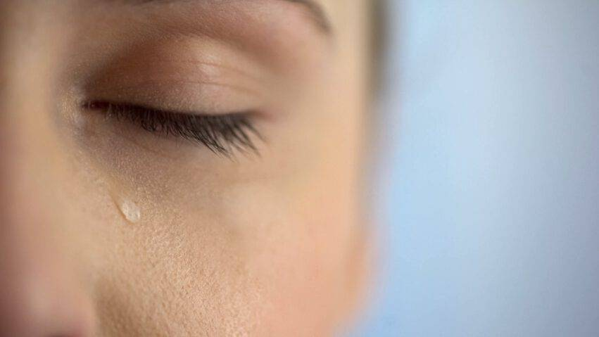 covid nelle lacrime