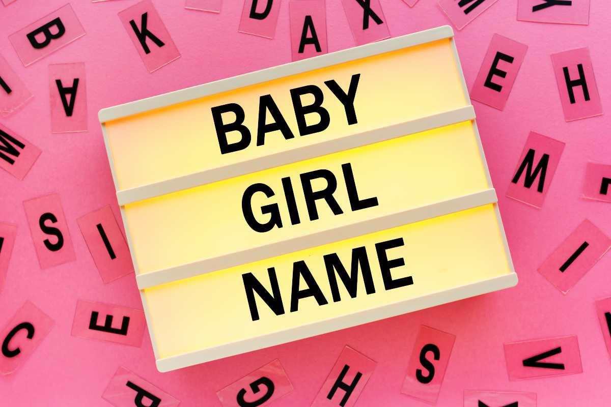 i nomi femminili con la v