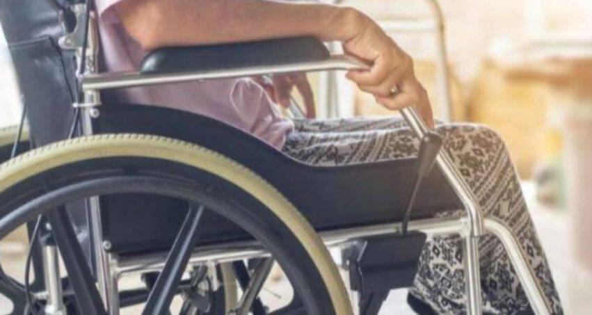 Donna disabile