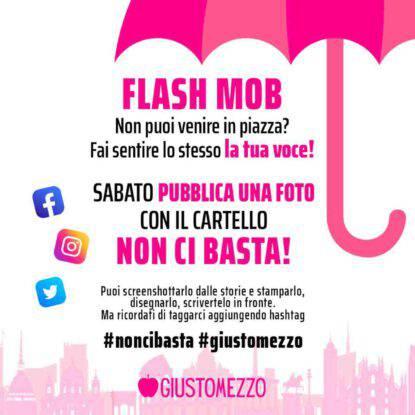 Flashmob per le donne