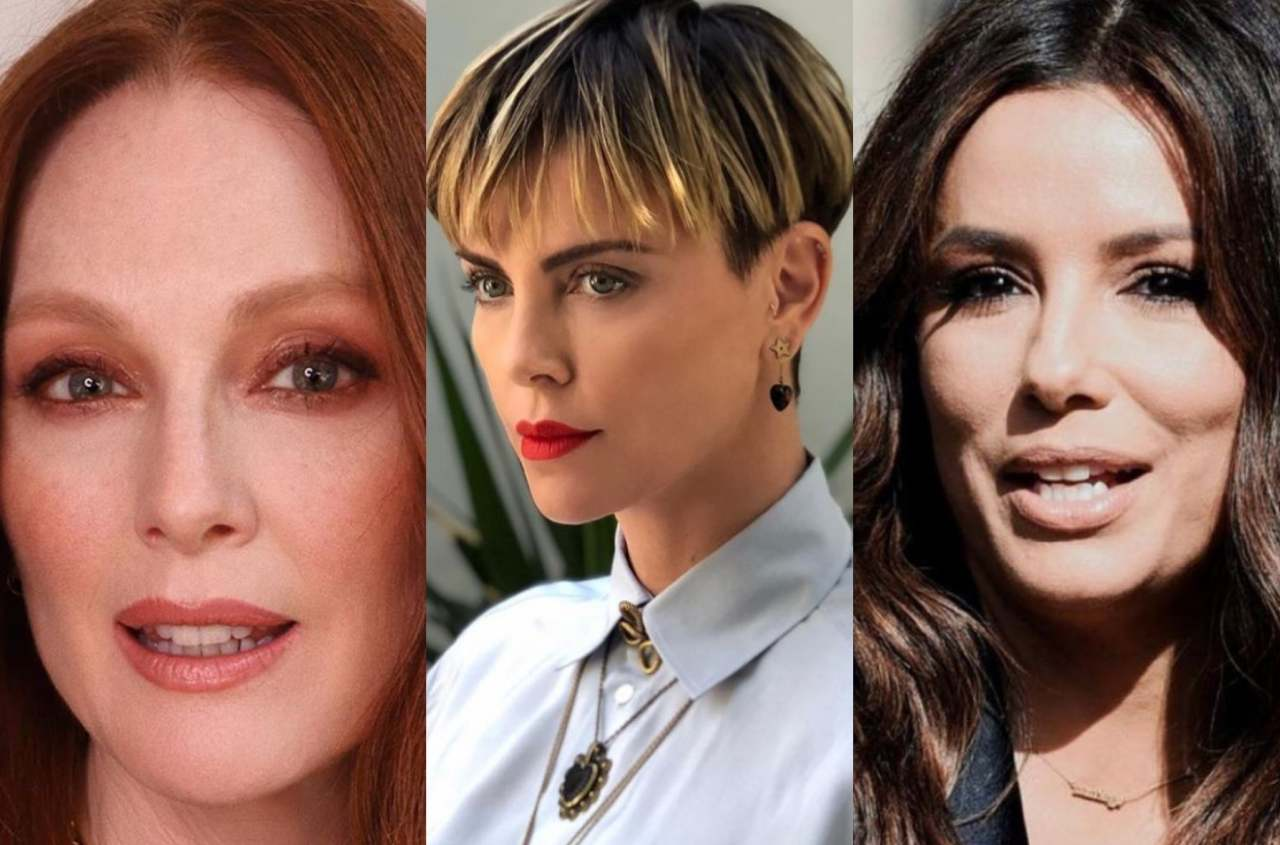 Julianne Moore, Charlize Theron e Eva Longoria