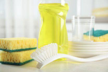 Spazzola per lavare i piatti