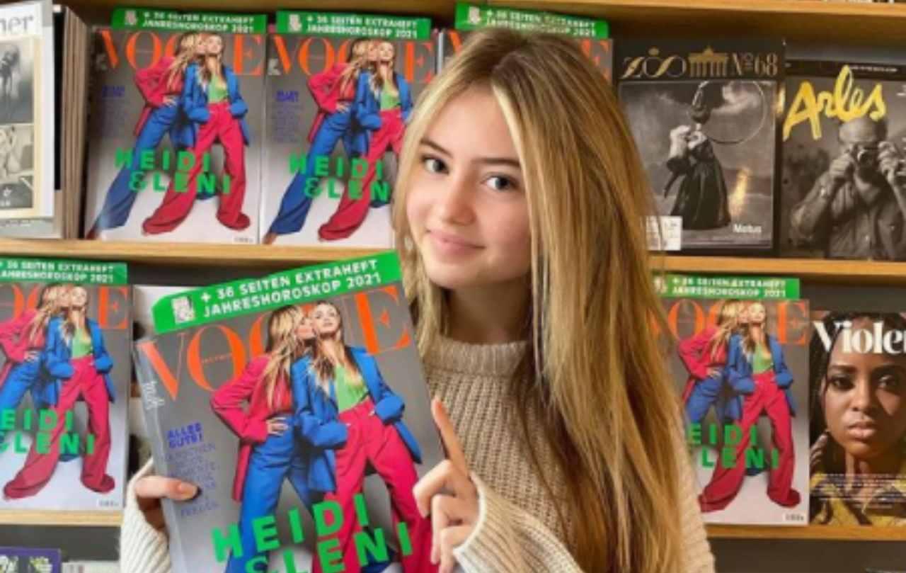 Leni Klum: la figlia di Flavio Briatore svela i suoi problemi di acne