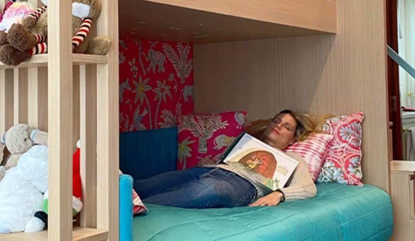 michelle hunziker camera figlie