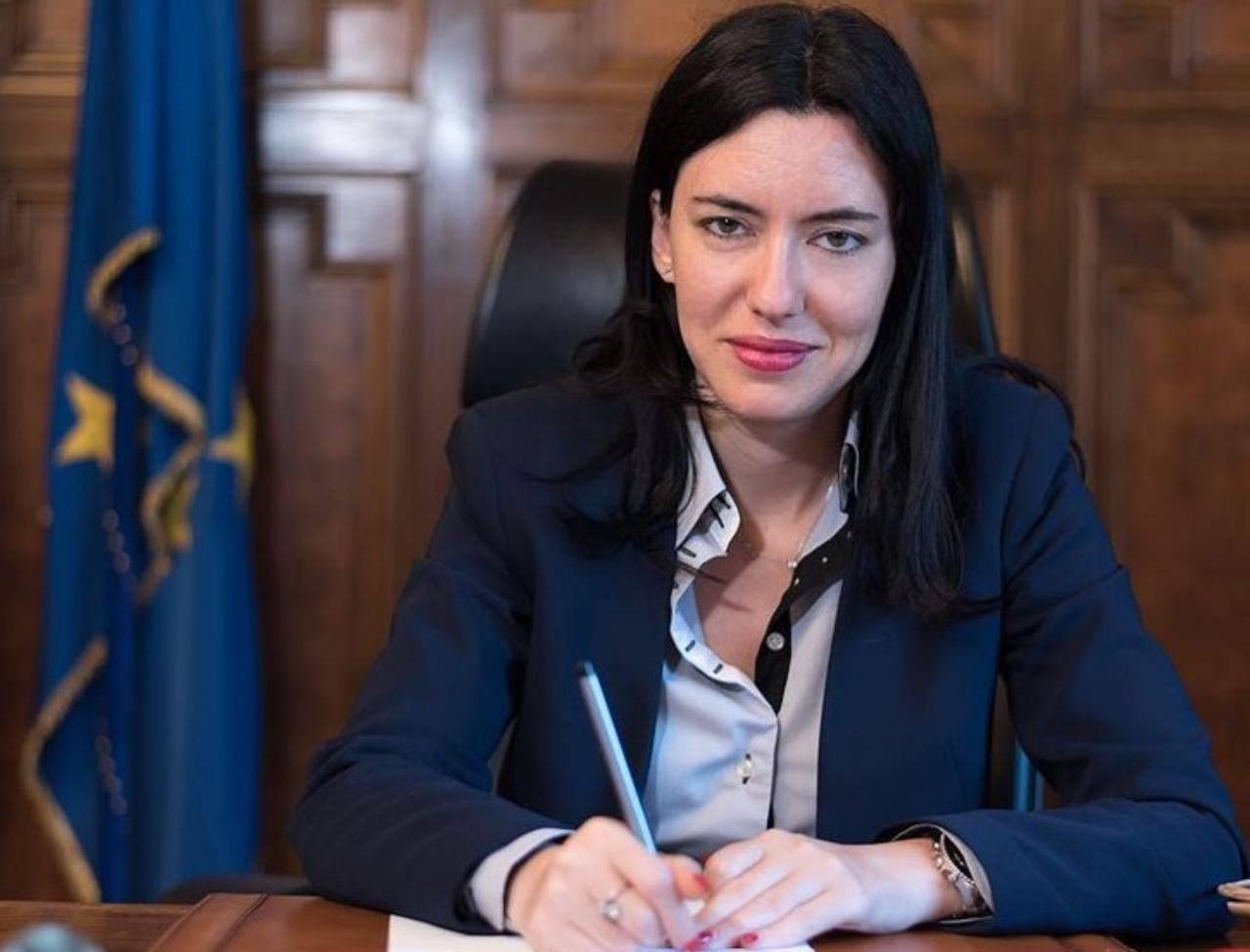 Ministra Lucia Azzolina (fonte Instagram @luciaazzolina)