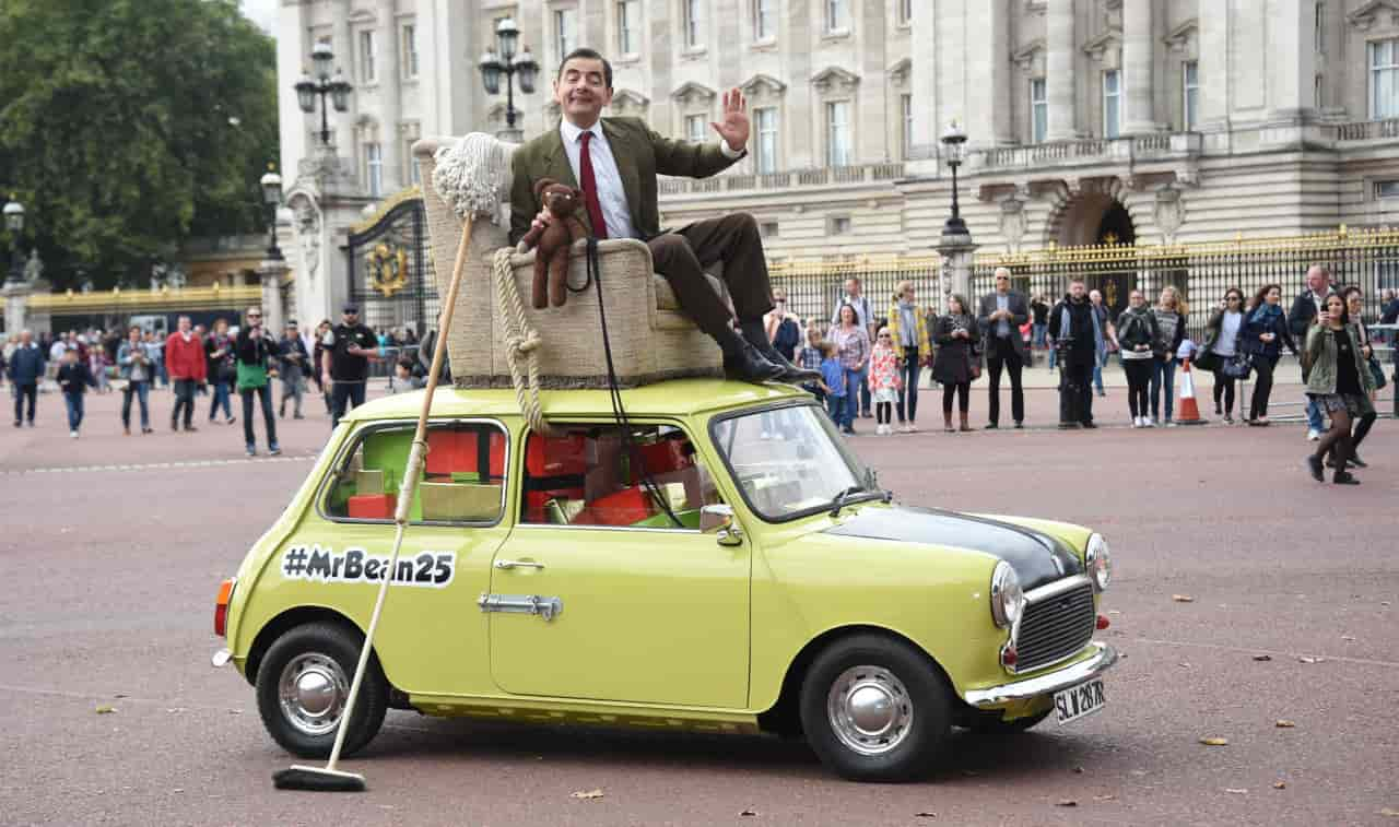 mr bean addio