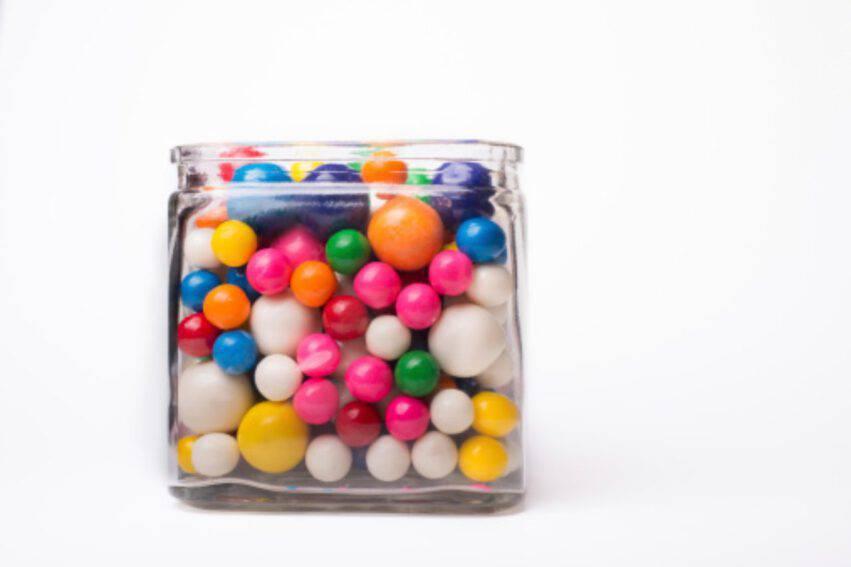 chewingum sferiche