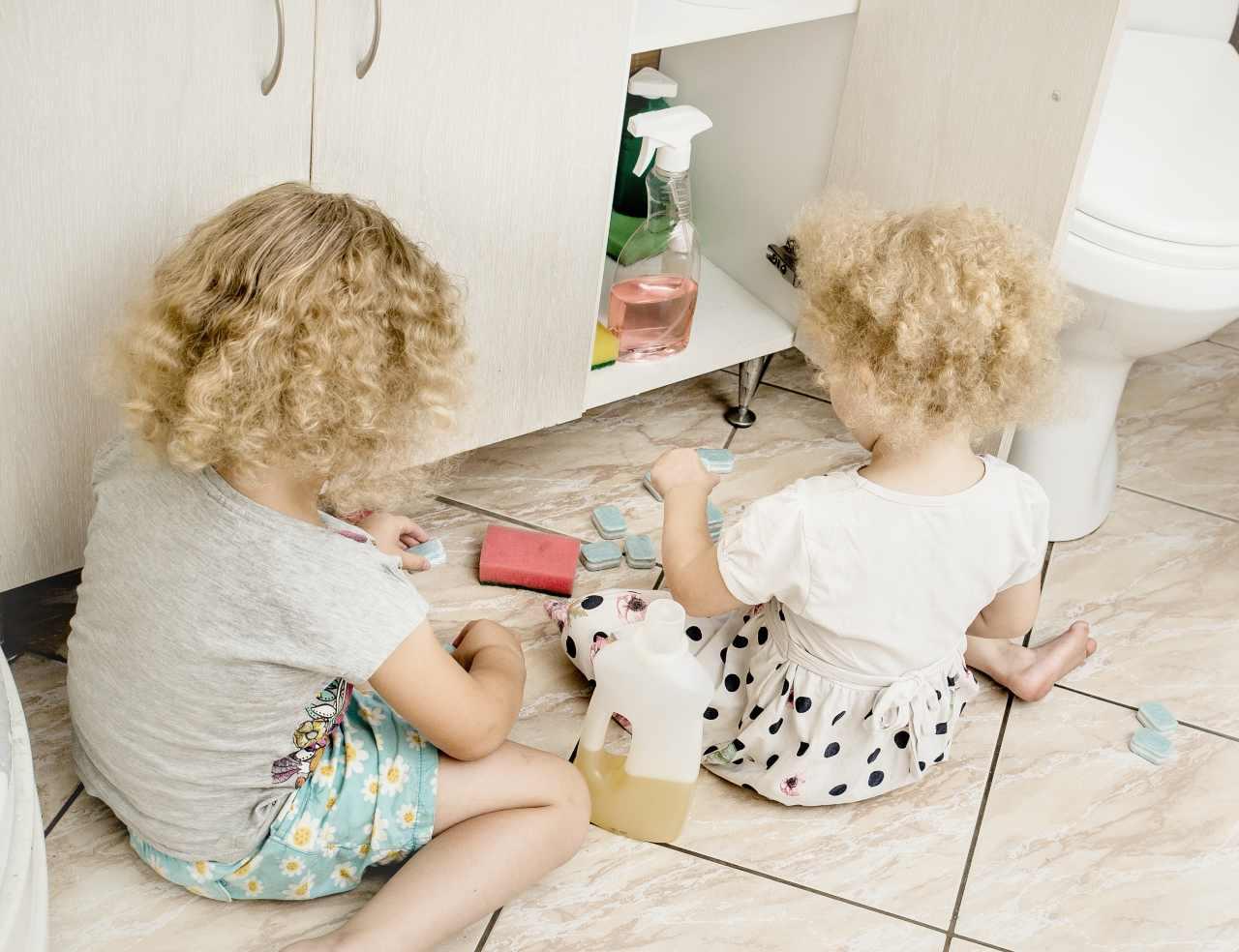 Pericoli in casa per i bambini