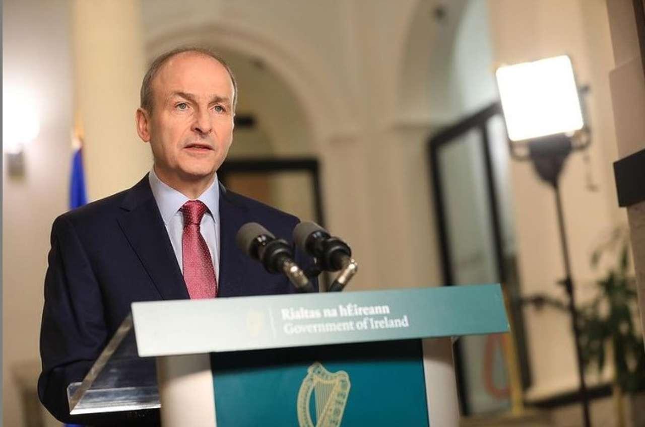 Premier irlandese Micheal Martin (fonte Instagram @michealmartintd)