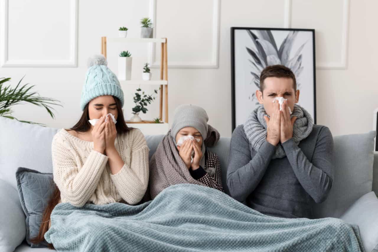 casi influenza