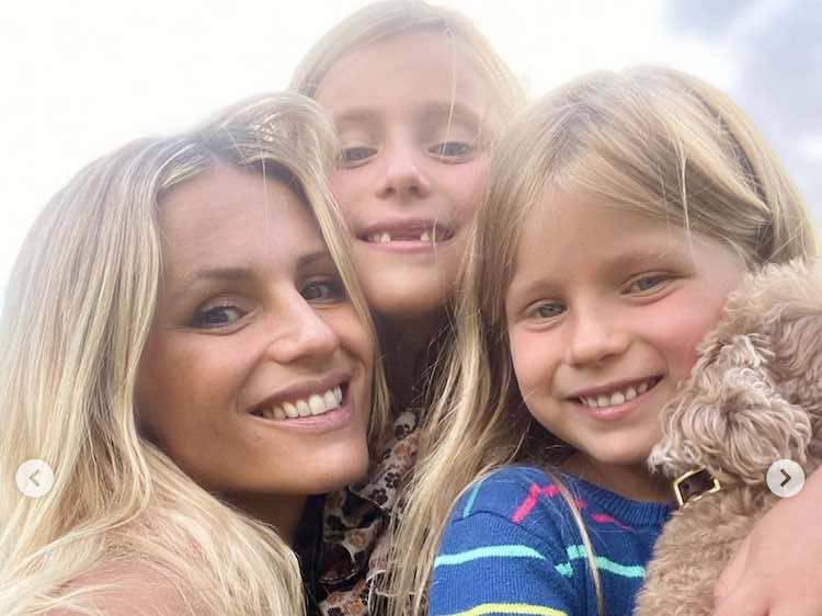 michelle hunziker con le figlie
