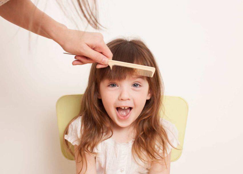 tagliare capelli bambini