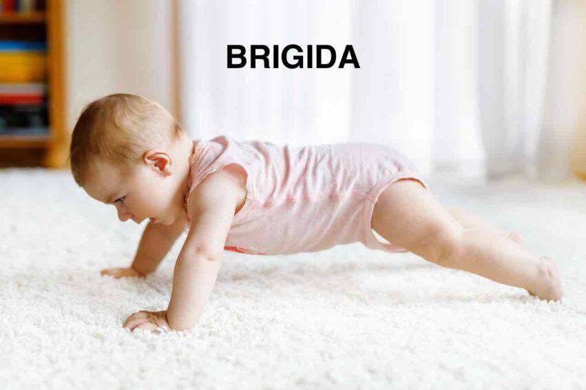 bambina nome brigida