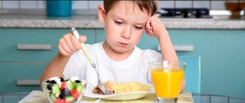Disturbi alimentari nei bambini