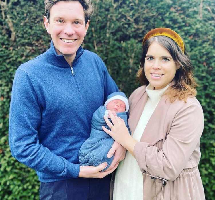 Eugenie di York marito e figlio