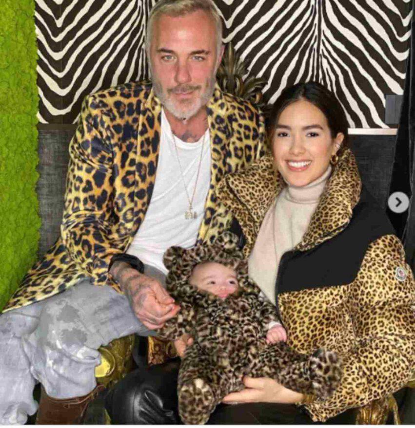 Gianluca Vacchi con Blu Jerusalema e Sharon