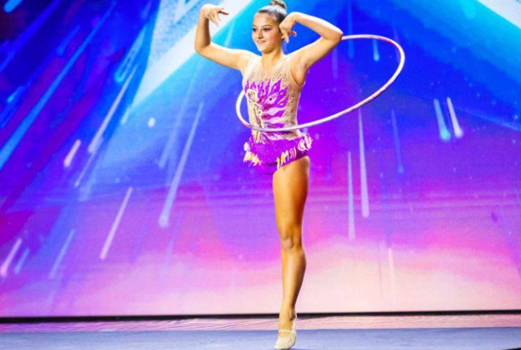 Giorgia Greco ginnasta con una gamba sola