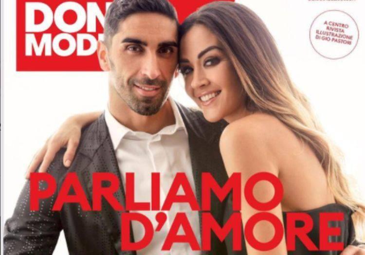 Giorgia Palmas e Filippo Magnini primo San Valentino con Mia