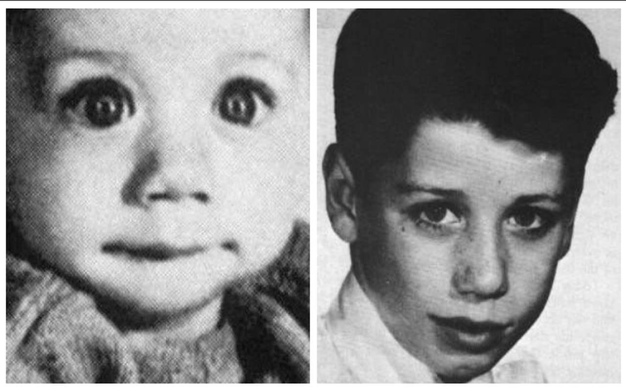 John Travolta da bambino