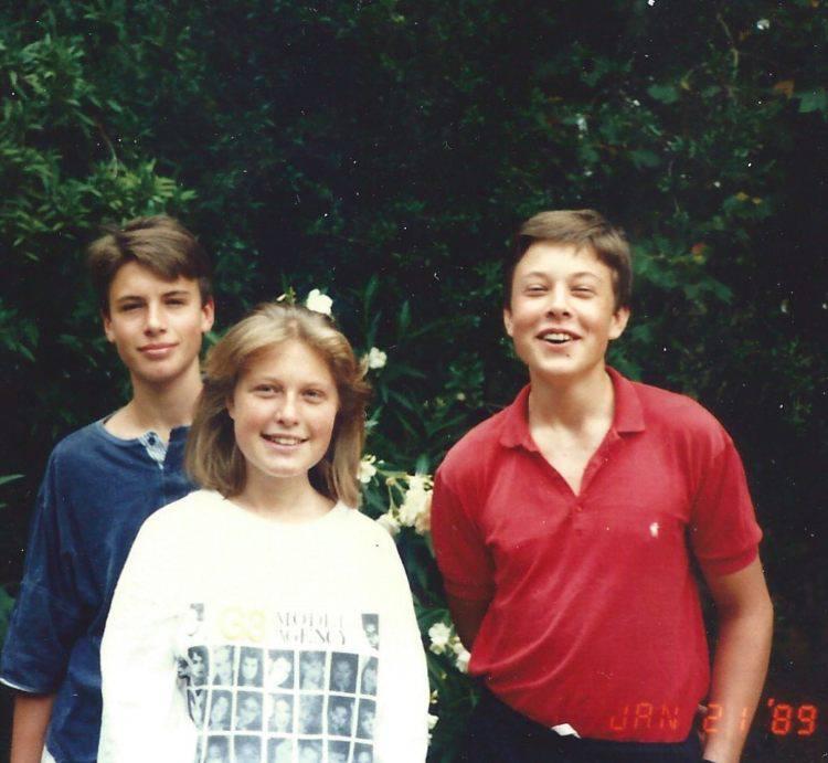 La famiglia Di Elon Musk