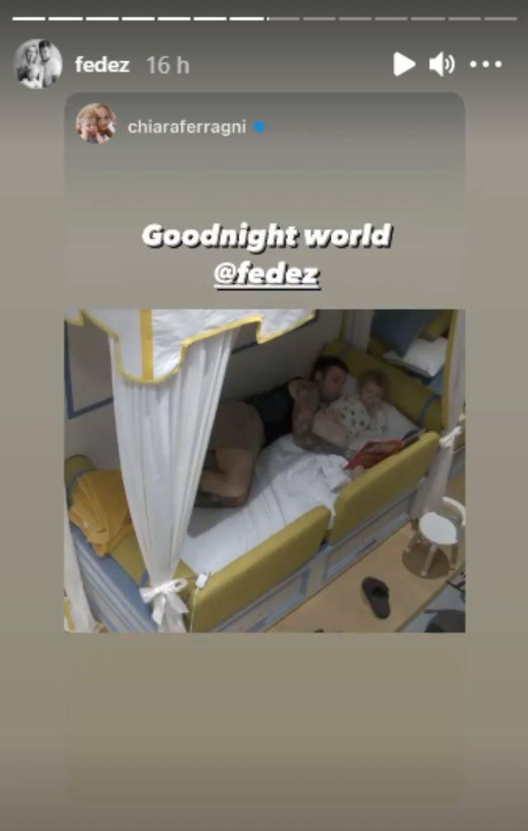 La routine di Leone prima di andare a dormire