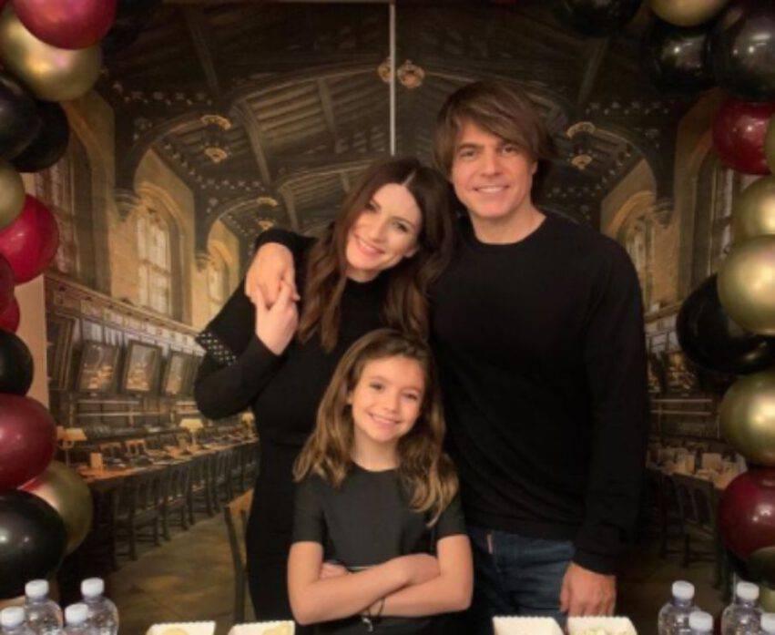 Laura Pausini e Paolo Carta festeggiano gli 8 anni della figlia