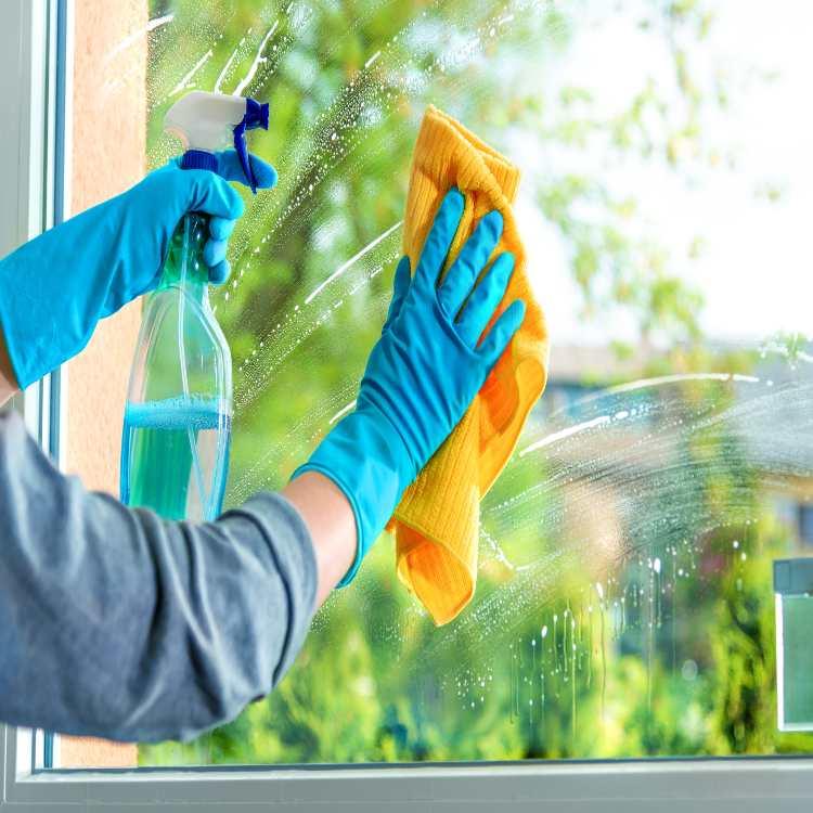 Pulire i le finestre